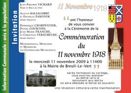 Commémoration du 11 novembre 1918 - 20ème siècle - Histoire - Exercices  : 3eme, 4eme, 5eme Primaire