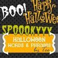 Halloween words - Les mots d'halloween en anglais : 2eme, 3eme, 4eme, 5eme Primaire