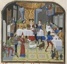 La vie des seigneurs au Moyen Age Diaporama - TBI : 4eme Primaire